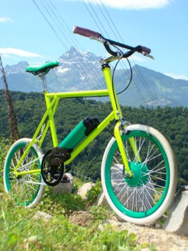 Fixie lectrique de 20&quot; Nouveaut mondiale