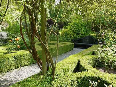 Visite de la bretagne bretagne ille et vilaine jardin anglais du manoir de la chauss e - Jardins de bretagne a visiter ...