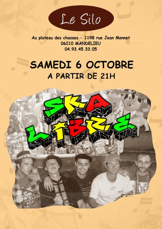 Samedi 6 Octobre 2012